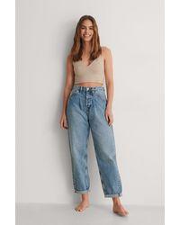 Calvin Klein Blue Baggy Jeans