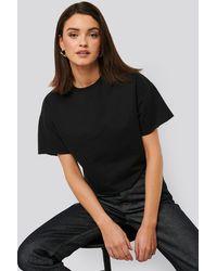 NA-KD Sweatshirt Tee - Zwart