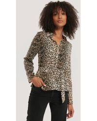 NA-KD - Button-Up-Bluse - Lyst