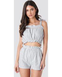 Trendyol Striped Set - Grijs