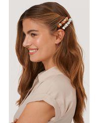 NA-KD 2-pack Haarspelden Met Ministeentjes - Meerkleurig