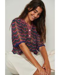 Mango Multicolor Polo Shirt Honolulu