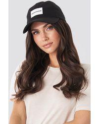 Calvin Klein Black J Institutional Cap