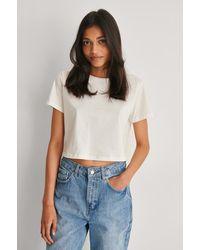 Trendyol - Organisch Cropped T-shirt - Lyst
