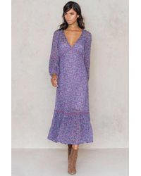 Spell - Wildflower Maxi With Slip - Lyst