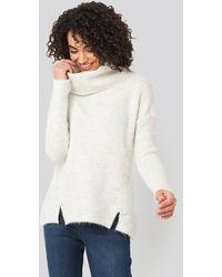 Trendyol - Side Tied Knitted Sweater - Lyst