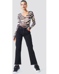 Trendyol - Frayed Hem Jeans - Lyst