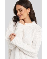Mango Mirror Sweater White - Multicolor