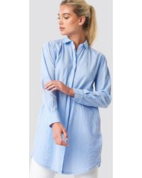 Mango - Lines Shirt - Lyst