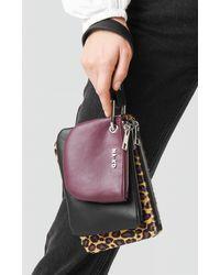 NA-KD Accessories Leopard Layered Clutch Bag - Mehrfarbig