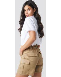 Glamorous Cargo Shorts - Braun