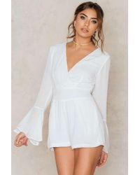 Toby Heart Ginger - Charlie Flare Sleeve Playsuit - Lyst