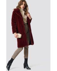 ccd418596feb Ganni Ferris Faux Fur Jacket - Lyst