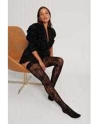 NA-KD Gerecycleerd Legging - Black - Zwart
