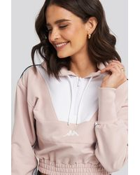 Kappa Byros Crop Hood Sweater - Mehrfarbig