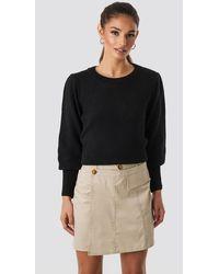 Trendyol Button Detailed Mini Skirt - Naturel