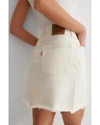 Levi's Iconic Bf Skirt - Wit