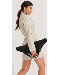 NA-KD Black Trapeze Shopper Bag