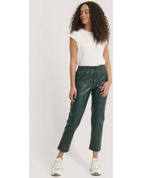 Mango Apple Trousers Green