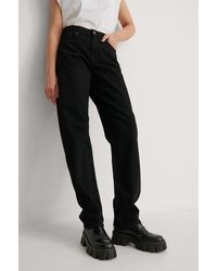 NA-KD Reborn Organisch Jeans - Zwart