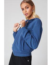 NA-KD - Basic Zipped Hoodie - Lyst