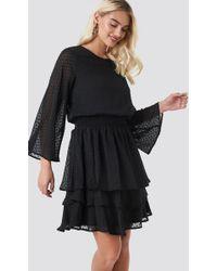 Sisters Point Nicoline Ls2 Dress Black