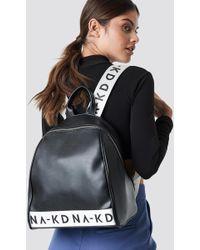 NA-KD Backpack Black