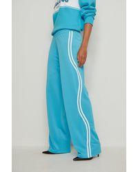 NA-KD Trend Pantalon de survêtement rayé - Bleu