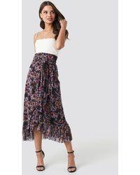NA-KD - Trend Mesh Overlap Maxi Skirt - Lyst