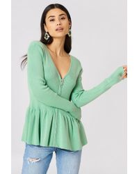 Storm&Marie - Nap Frill Knit Ming Green - Lyst