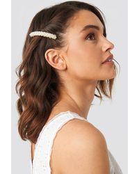 Trendyol Pearl Hair Clip - Métallisé