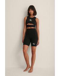Calvin Klein Pride Cyckling Shorts - Zwart