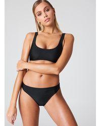 NA-KD Sporty Bikini Briefs - Noir
