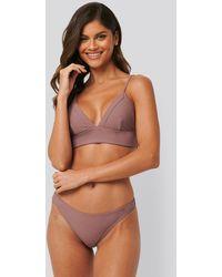 NA-KD Swimwear Bikini Panty - Braun
