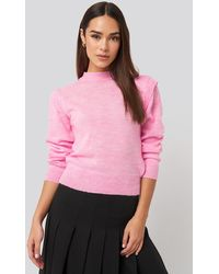 Trendyol Padded Sweater - Roze