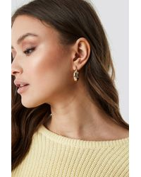 Mango - Colette Earrings Gold - Lyst