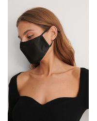 NA-KD Accessories 3Er-Pack Gesichtsmasken - Schwarz