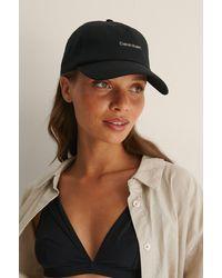 Calvin Klein Ck Cap - Noir