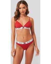 Tommy Hilfiger Bikini Coordinate Cotton Panties - Rood