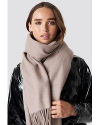 NA-KD Accessories Wool Blend Scarf - Mehrfarbig