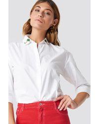 Mango - Palmeras Shirt - Lyst