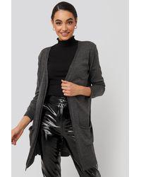 Trendyol Pocket Detailed Cardigan - Grijs