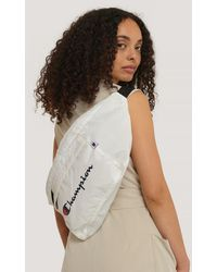 Champion White Shoulder Belt Bag