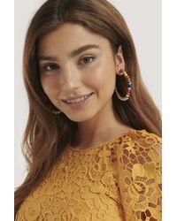Mango Multicolor Diesa Earrings - White