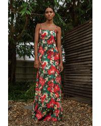NA-KD Trend Maxi-jurk - Rood