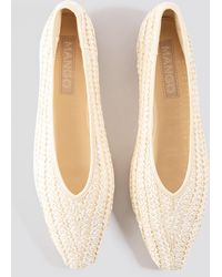 Mango Gaia Shoes - Naturel