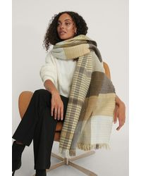 NA-KD Multicolor Double Sided Checkered Scarf