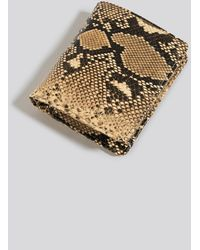NA-KD Beige,multicolor Folded Wallet - Metallic