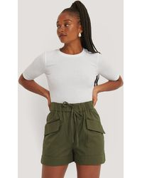 Mango Green Harvey Bermuda Shorts
