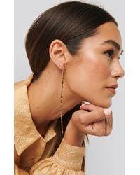 Mango Julie Earrings Gold - Metallic